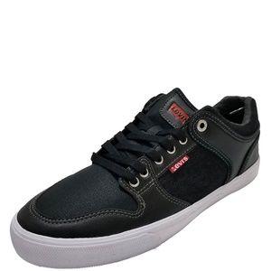 Levis Mens Maxwell Hi Casual Sneakers Black 10M